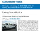 Towing Santa Monica